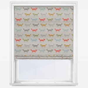 Fryetts Foxy Fox Roman Blind