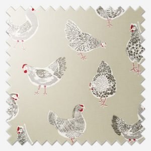 Studio G Rooster Roman Blind Sample